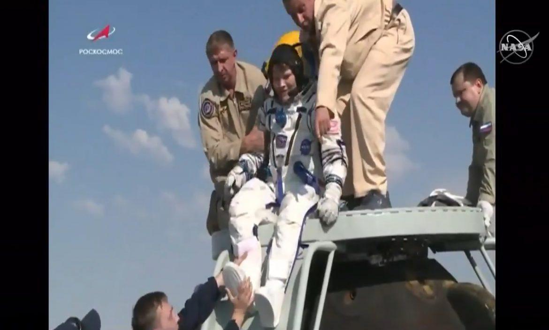 rientro astronauti stazione spaziale