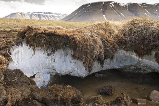 scioglimento permafrost artico canada