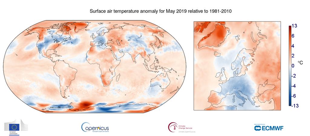 temperatura maggio 2019