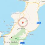 Terremoto in Calabria: avvertito tra Reggio Calabria e Vibo Valentia, epicentro a San Pietro di Caridà [DATI e MAPPE]