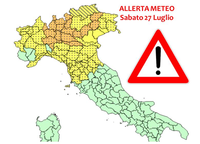 Forti temporali su Napoli e Campania, è allerta meteo