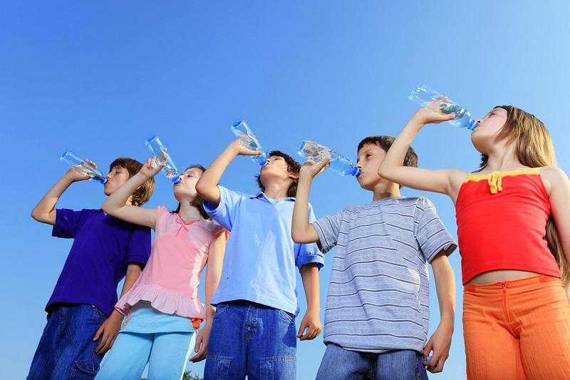 Corretta idratazione e bambini