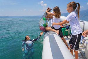 Federica Brignone e Gardaland SEA LIFE Aquarium