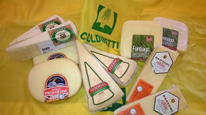Pasta e formaggi nel mirino di Trump