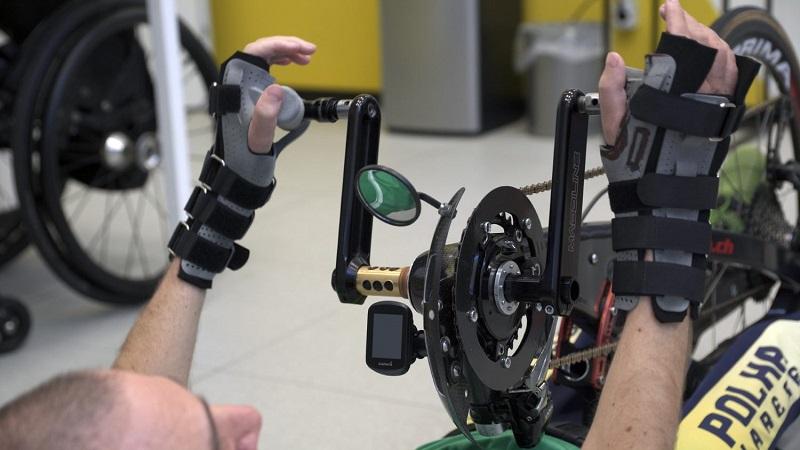 La stampa 3D rivoluziona il mondo degli handbikers