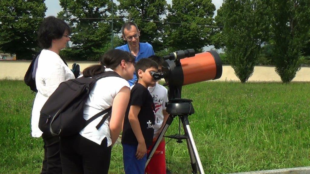 Mirafiori Scienza telescopio