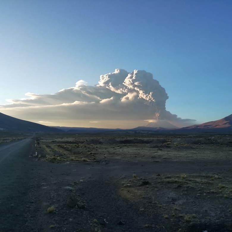 vulcano Ubinas Perù
