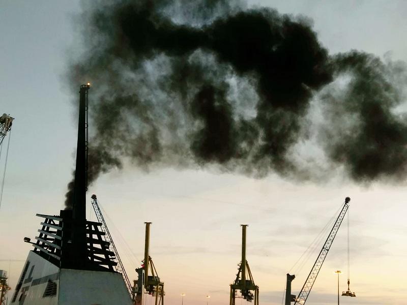 inquinamento porti