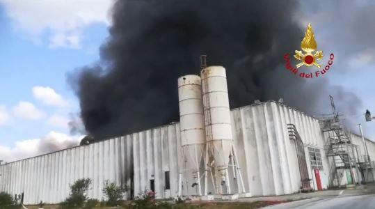 incendio porto torres