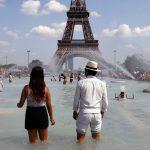 Parigi, il record ufficiale di Giovedì 25 Luglio è di +43,6°C: una temperatura clamorosa per tutta l'Europa