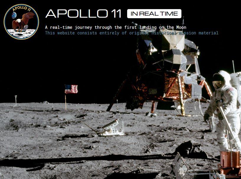 sbarco sulla luna real time