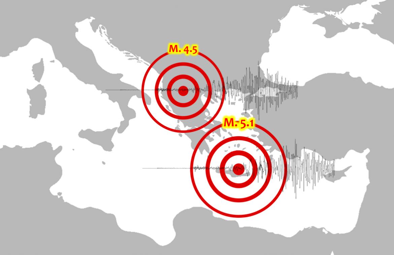terremoto creta albania Mediterraneo Italia