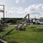 Maltempo, tornado a Fiumicino: la vittima è Noemi Magni, era uscita per comprare le sigarette [GALLERY]