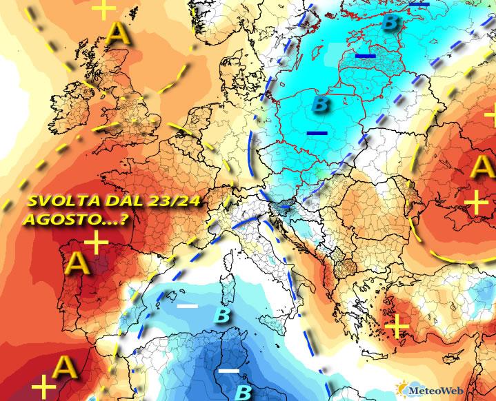 Caldo fino a mercoledì, poi temporali e temperature in calo