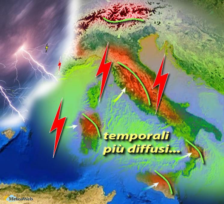 Meteo, le previsioni di sabato 24 agosto