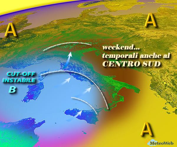Maltempo, due giorni di allerta meteo della Protezione Civile dell'Umbria