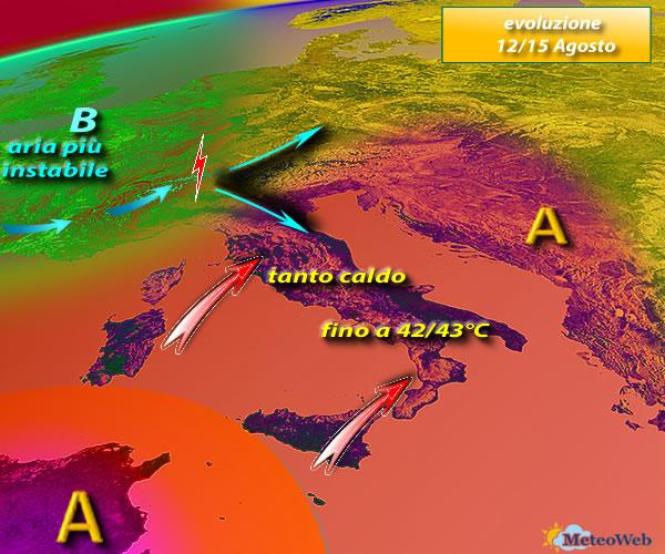 Meteo, addio al caldo africano: arrivano i temporali