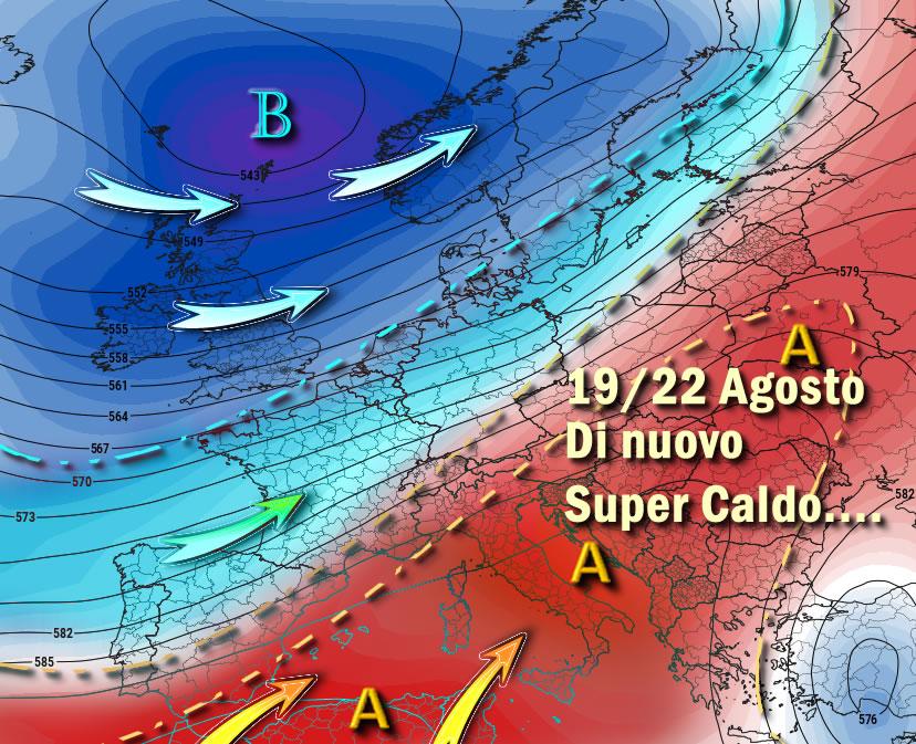 Meteo | Previsioni per giovedì 22 agosto