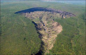 cratere batagaika