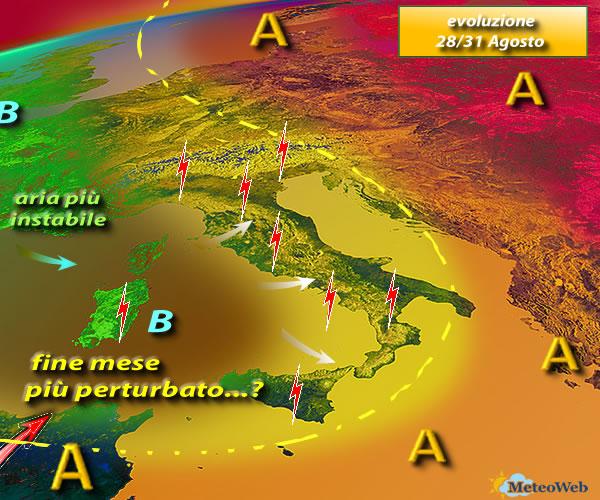 Ancora Borino: le previsioni per domani