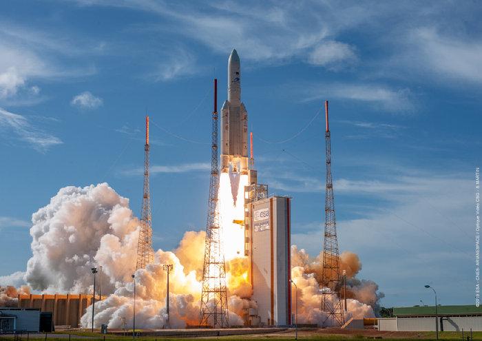 lancio ariane edrs-c