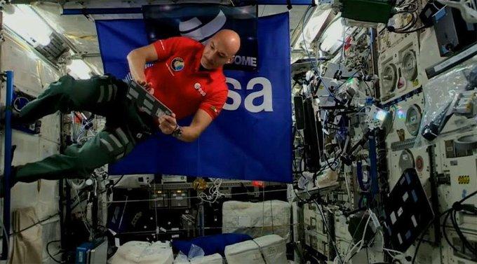 Luca Parmitano è il primo dj nello spazio