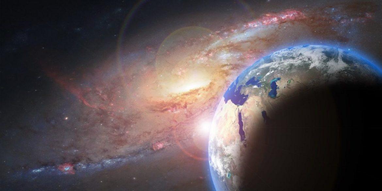 pianeta terra spazio via lattea astronomia