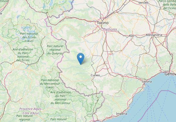 terremoto cuneo