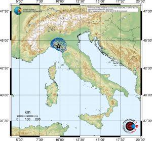 terremoto oggi parma