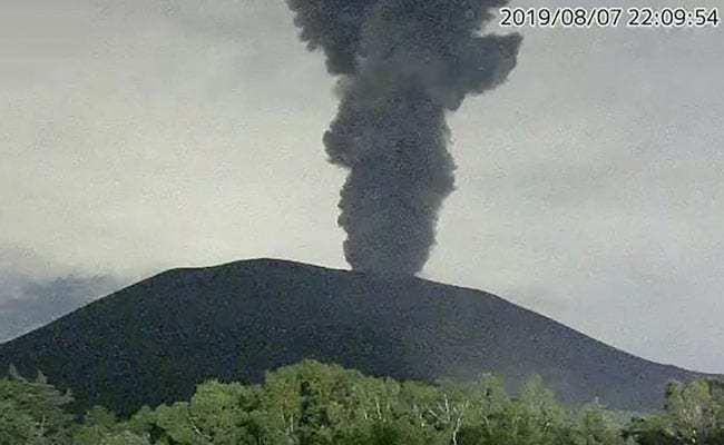vulcano asama giappone