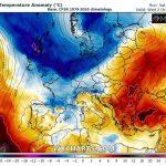 Previsioni Meteo, Ottobre inizia con un'irruzione di aria fredda su gran parte d'Europa: forti temporali in Italia e neve sulle Alpi [MAPPE]