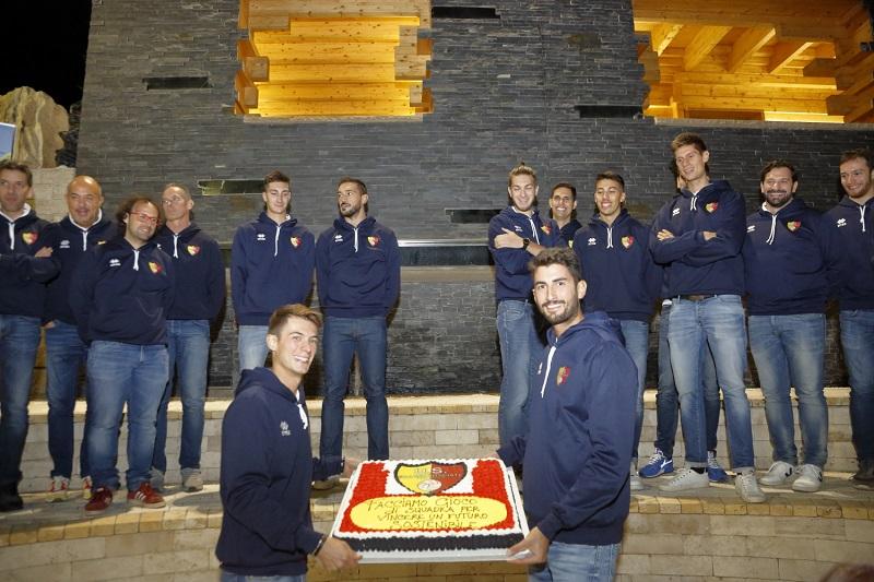 La squadra di serie B maschile Scanzo Volley