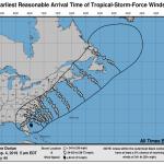 Uragano Dorian, cresce l'allerta meteo in Europa: pre-allarme nel Regno Unito [MAPPE]