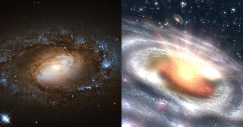 galassie intermedie liner