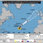 """Allerta Meteo per l'Uragano Lorenzo, un """"mostro"""" di 5ª Categoria in arrivo sull'Europa [MAPPE]"""