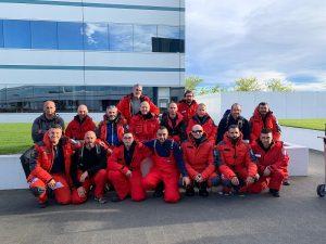 Gruppo apertura XXXV spedizione antartica a Christchurch