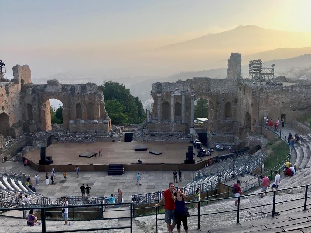 PARCO, NT, Taormina, Teatro Antico, visitatori, 1