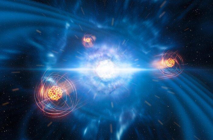 ESO stelle neutroni