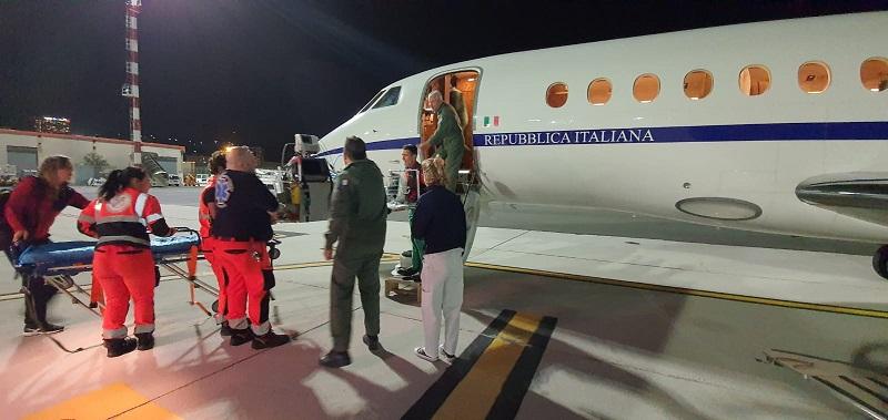 aeronautica militare trasporto urgente neonato
