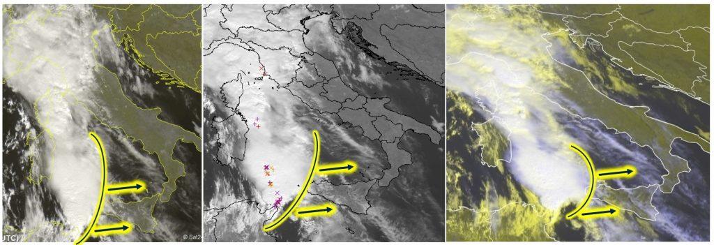 allerta meteo sicilia calabria 25 ottobre 2019
