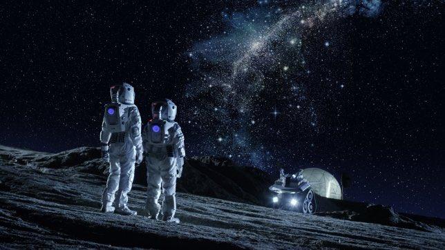 astronauti luna