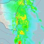 Allerta Meteo, furioso fronte temporalesco risale lo Jonio verso la Sicilia: pericolosissima area di convergenza tra Catania e Messina