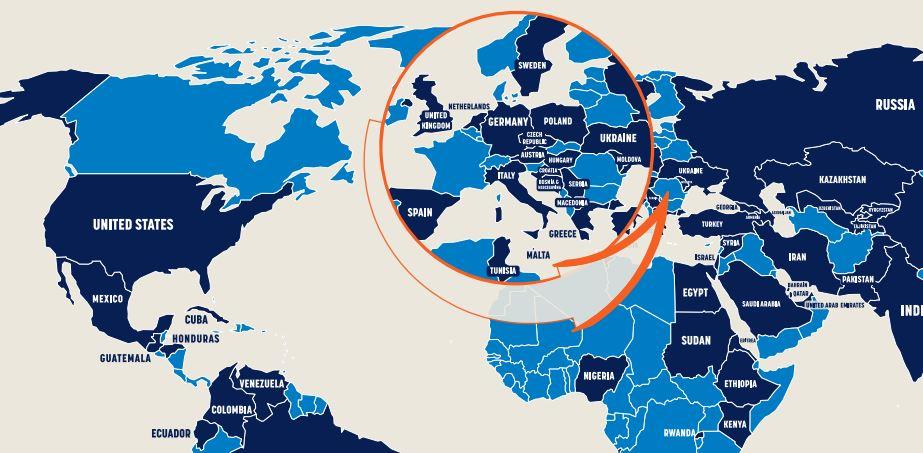 Social media, in 70 Paesi (Italia inclusa) vengono organizzate ...