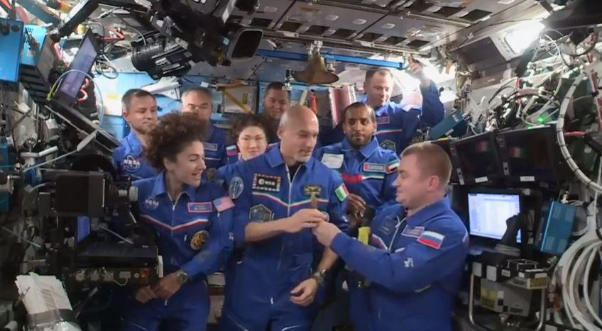 parmitano comandante stazione spaziale