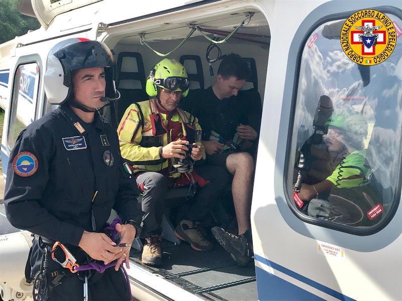 soccorso alpino siciliano salvataggio capo gallo