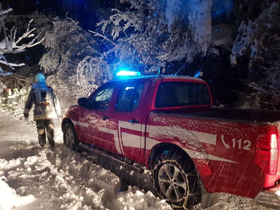 neve dolomiti alto adige 12 novembre 2019