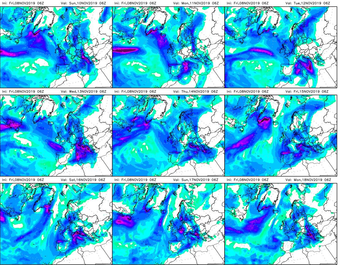 Uragano mediterraneo in arrivo in Sicilia con rischio nubifragi e alluvioni lampo
