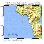 Nuovo terremoto al largo della Calabria: è la seconda scossa con magnitudo superiore a 3 in pochi minuti [DATI e MAPPE]
