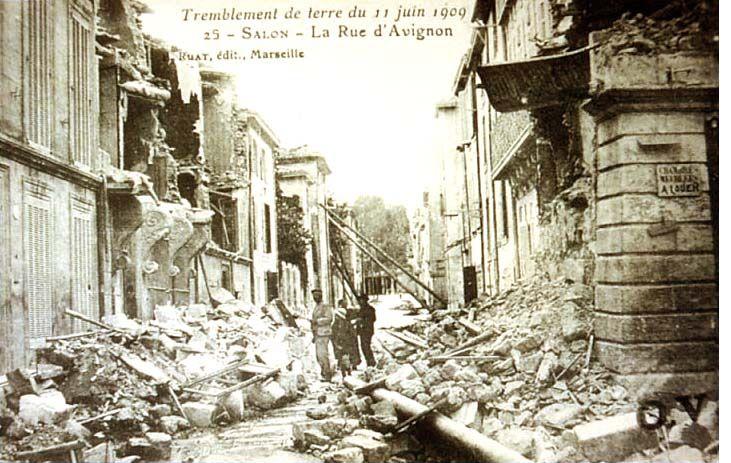 terremoto francia 1909