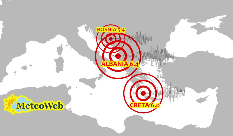 terremoto italia balcani turchia europa mediterraneo